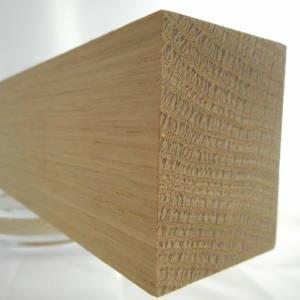 Eiche-Rechteckleiste, rechteckige Eichen-Holzleiste