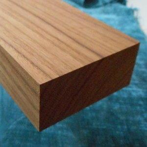 Teak-Rechteckleiste, rechteckige Teak-Holzleiste