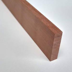 Elsbeere-Rechteckleiste, rechteckige Elsbeere-Holzleiste