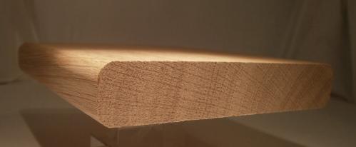 Eiche-Bankleiste 22x90mm