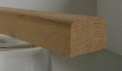 Eiche-Bankleiste 19x30mm