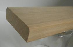 Eiche-Bankleiste 19x55mm