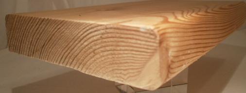 Lärchen-Bankleiste 27x118mm