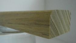 Robinie-Bankleiste 18x30mm
