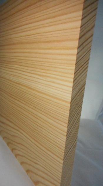 Lärche-Brett, 20mm stark, 150 mm breit, aus mehreren durchgehenden Lamellen verleimt