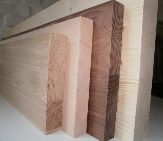 Leistenfoto Bretter-aus-Massivholz