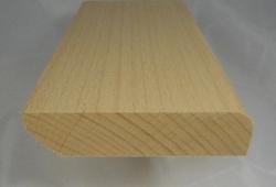 Fussleisten / Fußleiste aus Buche, 20mm stark, 80mm hoch