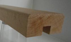 Buche-Handlaufleiste 60x30 mm