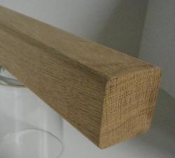 EIche-Handlaufleiste 40x40 mm