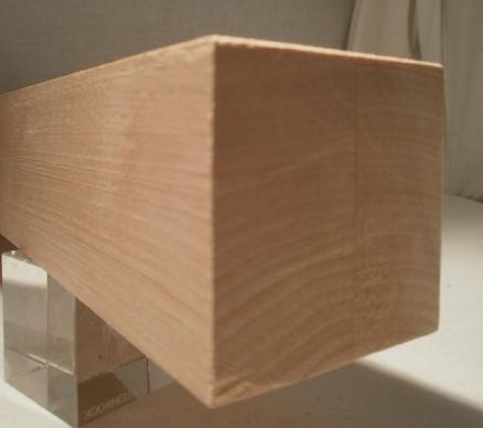 Birke-Kantholz 60x60mm