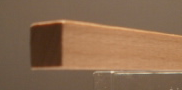 Buche-Quadratstab 10x10mm