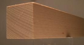Buche-Quadratstab 30x30mm