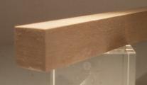 Nussbaum-Quadratstab 20x20mm