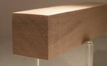 Nussbaum-Quadratstab 30x30mm