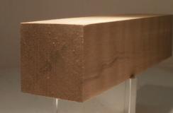 Nussbaum-Quadratstab 35x35mm