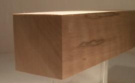 Nussbaum-Quadratstab 40x40mm