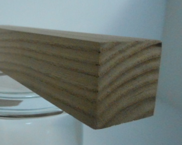 Rüster-Quadratstab 25x25 mm (Ulme)