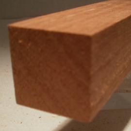 Sipo-Mahagoni-Quadratstab