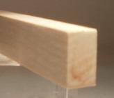 Ahorn-Rechteckleiste 10x20 mm