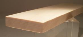 Ahorn-Rechteckleiste 10x40 mm