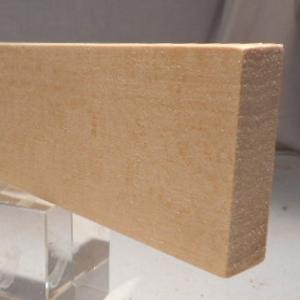 Ahorn-Rechteckleiste 15x50 mm