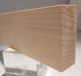 Ahorn-Rechteckleiste 20x40 mm