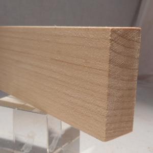 Ahorn-Rechteckleiste 20x50 mm