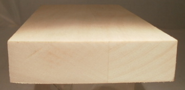 Ahorn-Rechteckleiste 20x80 mm