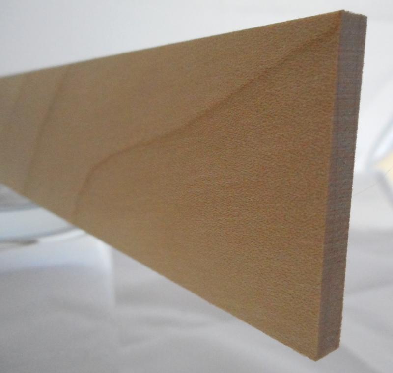 Ahorn-Rechteckleiste 5x40 mm