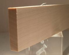 Birke-Rechteckleiste 10x40 mm