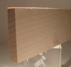 Birke-Rechteckleiste 10x50 mm