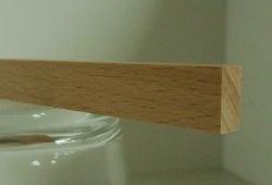 Buche-Rechteckleiste 5x10 mm
