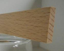 Buche-Rechteckleiste 5x20 mm