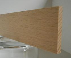 Buche-Rechteckleiste 5x35 mm