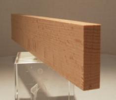Buche-Rechteckleiste 10x35 mm