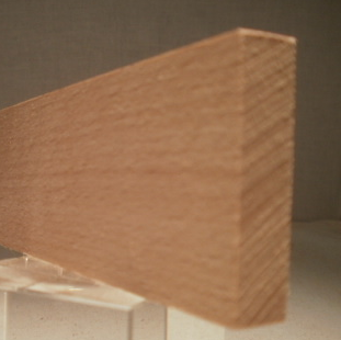 Buche-Rechteckleiste 10x40 mm