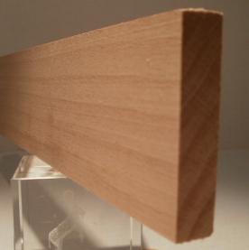 Buche-Rechteckleiste, 10x50mm