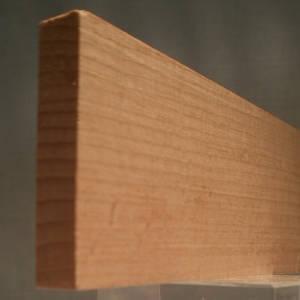 Buche-Rechteckleiste, rechteckige Buchen-Holzleiste