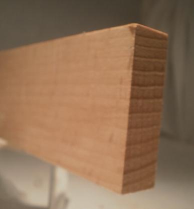 Buche-Rechteckleiste 15x50 mm