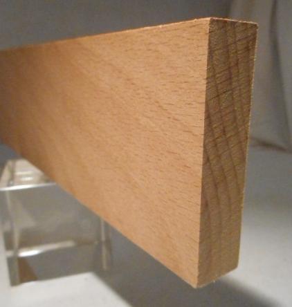 Buche-Rechteckleiste 15x60 mm