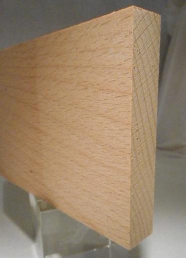 Buche-Rechteckleiste 15x80 mm
