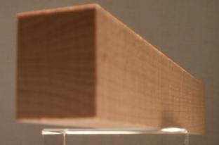 Buche-Rechteckleiste 20x25 mm