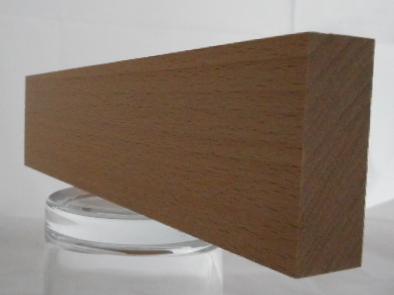 Buche-Rechteckleiste 20x50 mm
