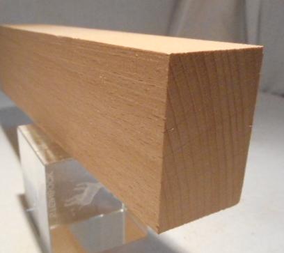 Buche-Rechteckleiste 30x45 mm