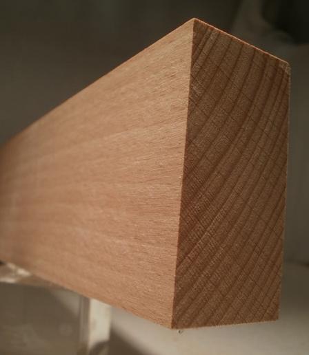 Buche-Rechteckleiste 30x60 mm