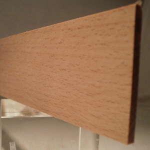 Buche-Rechteckleiste 3x40 mm