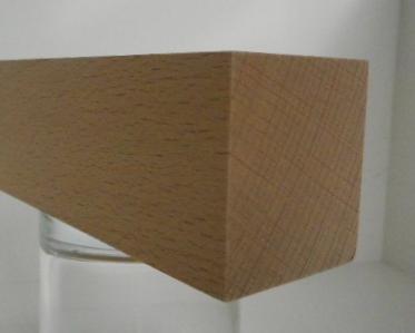 Buche-Rechteckleiste 40x45 mm