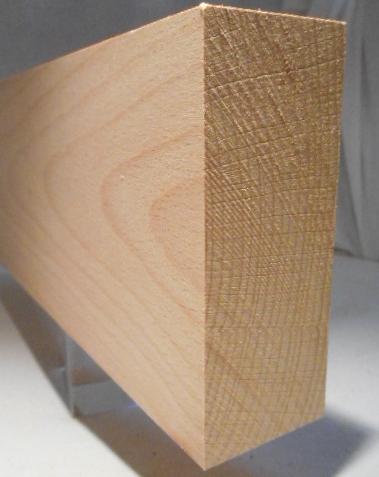 Buche-Rechteckleiste 40x100 mm