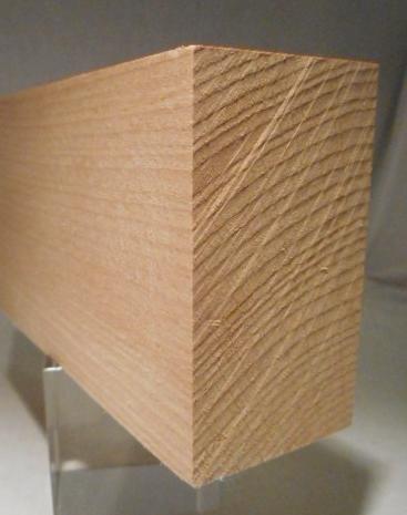 Buche-Rechteckleiste 40x70 mm