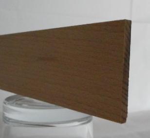 Buche-Rechteckleiste 5x45 mm